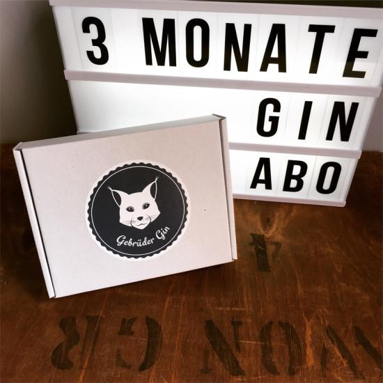 3 Monate Gin-Abo von Gebrüder Gin
